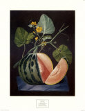 Polinac Melon Print by George Brookshaw