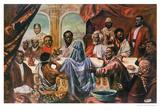 La última cena Last Supper Láminas por Cornell Barnes