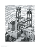 Foss Plakater av M. C. Escher