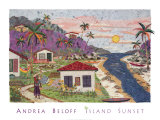 Island Sunset Prints by Andrea Beloff