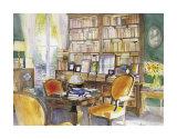 Salon de Lecture Print by Andre Olsufiev