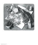 Répteis Arte por M. C. Escher
