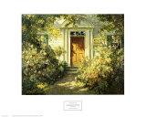 Entrée de porte de chez grand-mère Affiches par Abbott Fuller Graves