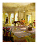 Maude Allan's Music Room Posters by Herbert Richter
