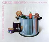 Vegetables Marin Plakater af Greg Brown