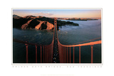 Golden Gate Bridge Print by Bob David