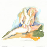 Nudes IV Poster van Alfred Gockel