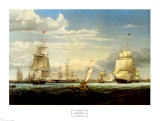 Boston Harbor, 1853 Prints by Fitz Hugh Lane