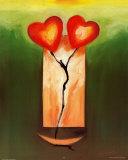 Danse d'amour Poster par Alfred Gockel