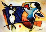 Galerie ouverte I Affiches par Alfred Gockel