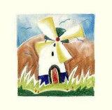 Windmill Posters by Alfred Gockel