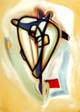 Abstract Heart II Planscher av Gockel, Alfred