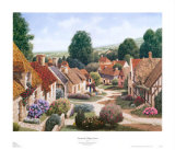 Normandy Village France Posters by Michael Duvoisin