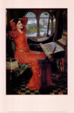Lady of Shalott, v.1916 Posters par John William Waterhouse
