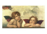 Sistine Madonna Detail Posters by  Raphael