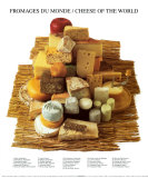 Cheeses of the World Prints