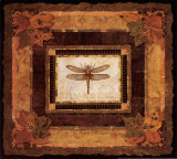 Dragonfly II Prints by Pamela Gladding