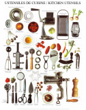 Kitchen Utensils Prints