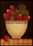 Cup o' Strawberries Posters by Diane Pedersen