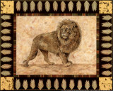 Lion Prints by Pamela Gladding