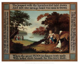 Peaceable Kingdom Poster by Edward Hicks