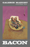 Personnage Couche, 1966 Reprodukcje autor Francis Bacon