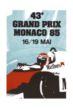 Monaco Grand Prix, 1985 Prints by Geo Ham