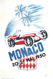 Monaco Grand Prix, 1950 Plakater