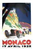 Monaco Grand Prix, 1932 Collectable Print