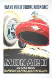 Monaco Grand Prix, 1955 Affiches