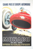 Monaco Grand Prix, 1955 Collectable Print