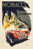 Monaco Grand Prix, 1952 Affiches