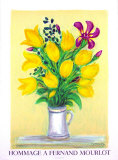 Tulips Collectable Print by Andre Cottavoz