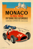 Monaco Grand Prix, 1956 Collectable Print