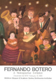 Los Musicos Collectable Print by Fernando Botero
