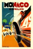 Monaco Grand Prix, 1931 Posters