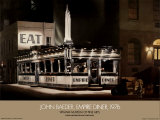 Empire Diner 1976 Prints by John Baeder