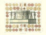 Coin Press, 1851 Art Print