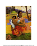 Nafea Faa Ipcipo Print by Paul Gauguin
