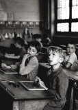 Information Scolaire, 1956 Posters van Robert Doisneau