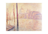 View of Venice Kunstdruck von Claude Monet