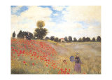 Coquelicots Posters by Claude Monet