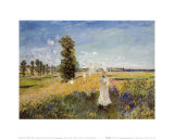Promenade Poster by Claude Monet