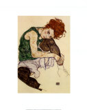 The Artist's Wife Prints by Egon Schiele
