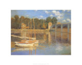 Pont d'Argenteuil Prints by Claude Monet