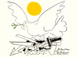 World Without Weapons Plakaty autor Pablo Picasso