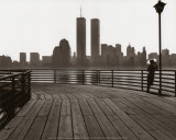 Jersey City Boardwalk Prints by George Forss