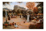 Parisian Promenade Prints by Christa Kieffer
