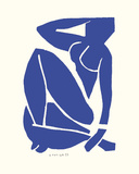 Blue Nude III Prints by Henri Matisse