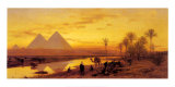 Sunset Prints by Karl Von Eckenbrecher
